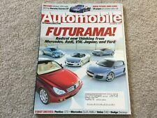 2003 Toyota Matrix, 2004 Pontiac GTO Automobile Magazine