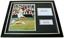 ROD LAVER Signed FRAMED Photo Display authentic AUTOGRAPH Tennis Memorabilia COA
