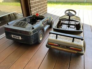 Classic Pedal Cars  Toys Toys brand Porsche 959 and BMW 6 series.