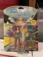 Playmates Toys Star trek the Next Generation Lieutenant Commander Deanna Troi...