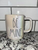 "New Rae Dunn Iridescent Valentine's Day ""BE MINE"" Mug. VHTF"