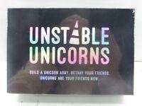 NEW Sealed Unstable Unicorns BLACK BOX Limited Edition NIB