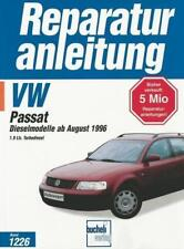Reparaturanleitung VW Passat B5 1,9 liter Diesel / TD / TDI, Baujahre ab 1996