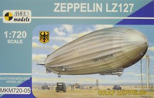 "Airship "" Graf Zeppelin "" Lz 127, Mark I, 1:720, Plastic New"