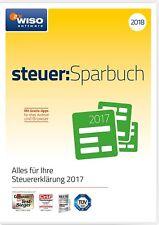WISO steuer:Sparbuch 2018 für Steuerjahr 2017 OVP - PC Neu