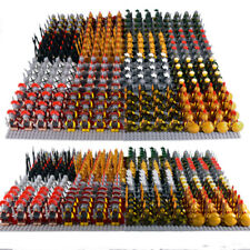 21x Minifigures Medieval Kingdom Soldiers Knight Medieval Army Military Blocks