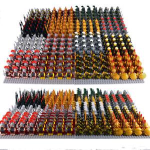 21x Minifigures Medieval Kingdom Soldiers Knight Medieval Army Military Blocks