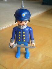 Playmobil Figur Gandarm Preussen mit Pickelhaube 1900 Bismarck Soldat TOP