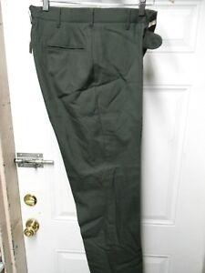 US ARMY Surplus Men's Dress Green Class A Uniform PANTS