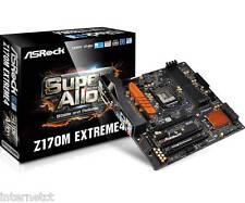 Asrock Z170M Extreme 4 Micro ATX, DDR4 M.2 placa madre Intel Socket 1151 USB 3.1