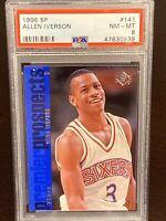 1996 Upper Deck Sp Allen Iverson RC PSA #141 Philadelpia 76ers HOF Rookie AI