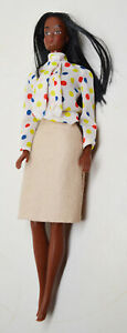 MATTEL Vintage 1966 African-American Barbie Doll ~ Phillipines