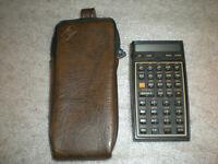 Vintage Hewlett Packard HP 41CV Calculator