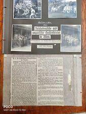 Convolute Old Photos Reichsdeutsche & Hungarian Hockey Player Vienna 1929