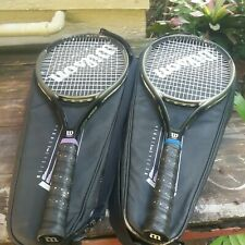SET OF 2 WILSON PROFILE HAMMER SYSTEM 2.7si TENNIS RACKETS MP 95 Sq. Inch