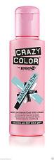 Crazy Color Semi Permanent Hair Dye 100ml.63 Bubblegum Blue