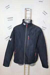 Helly Hansen Mens Crew Midlayer Helly Tech lined Fleece Sailing Jacket sz Large