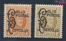 Belgien PP1-PP2 mit Falz 1959 Albert (8688160
