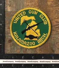 Vintage United Gun Club Kalamazoo Michigan Hunting Patch MI