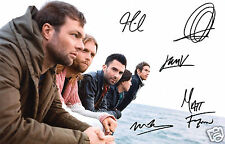 MAROON 5 ENTIRE GROUP AUTOGRAPH SIGNED PP PHOTO POSTER