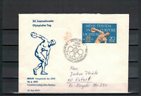 "DDR FDC ""XV. Internationaler Olympischer Tag"" MiNr. 1660 SSt Berlin 15.06.77"