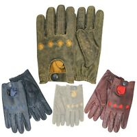 New Prime Driving Fashion Dressing Gloves Cow Crunch Nappa Classic Leather 513