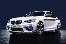 Front Carbon Attachments Genuine BMW M2 M Performance 51192361668 51192365981