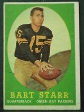 1958 Topps Football BART STARR #66 Green Bay Packers