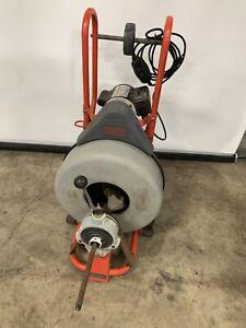 RIDGID Kollmann 115-Volt K-750 AUTOFEED Drain Cleaner Drum Machine