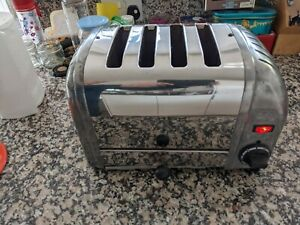 Dualit toaster 4 slice chrome
