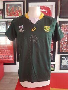 Springbok Rugby Jersey signed by Siya Kolisi