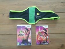 ZUMBA FITNESS + BELT NINTENDO WII UK PAL GAME *SAME DAY DISPATCH - FREE P&P