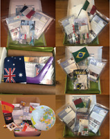Cultured Owl Country Kit Lot 6 World Edition Passport Ages 5&Up Homeschool Craft