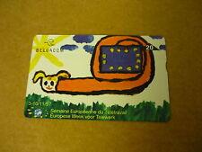 *TELECARD PHONECARD BELGACOM (97) BELGIUM SEMAINE EUROPEENNE DU TELETRAVAIL