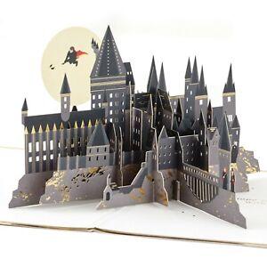 Hallmark Birthday Card by Signature ~ Hogwarts Castle Harry Potter ~ POP UP