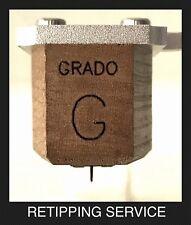 Grado Cartridge Nude 2x7 True Elliptical+Tapered Titanium Cantilever: Outrageous