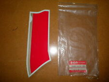 New NOS 89-93 Suzuki GSX750F GSX 750 Katana Cowling Model K Decal Red