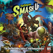 Smash Up Deck Building Card Game From AEG Alderac Entertainment Group