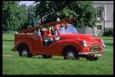 Metal Sign British Uk Cars 354054 Morris Minor Fire Engine 1952 A4 12X8 Aluminiu