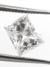 Solitaire Loose Natural Diamond 0.51 Ct F VS1 Princess GIA Bridal Engagement