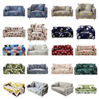 Floral Stretch Chair Sofa Cover 1/2/3/4 Seater Couch Elastic Slipcover Protector