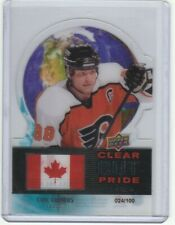 2012-13 Upper Deck Clear Cut Pride #5 Eric Lindros /100
