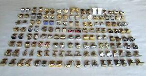 Vintage Lot 72 Pair Cufflinks * Swank * Hickok * Craft / Repair