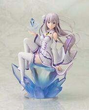 Re Zero kara Hajimeru Isekai Seikatsu Emilia 1/8 Scale PVC Anime Figure No Box
