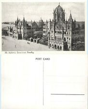 Victoria Terminus Bombay India Vintage Postcard - Architecture Railroad Station
