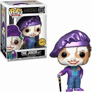 FUNKO POP THE JOKER BATMAN 1989 JACK NICHOLSON #337 CHASE LIMITED EDITION 47709