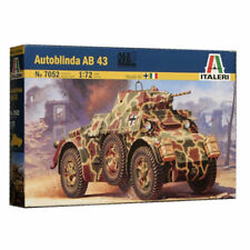 Autoblinda AB 43 - Military Vehicles 1/72 - Italeri 7052