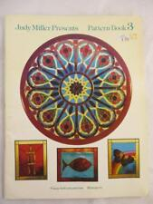Judy Miller Presents Pattern Book 3 Stained Glass Church Windows  OOP RARE