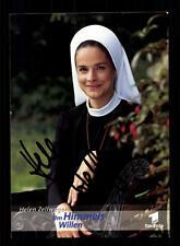 Helen Zellweger Um Himmels willen Autogrammkarte Original Signiert # BC 64829