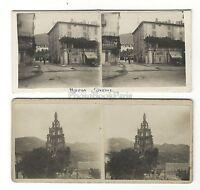 Nyons Drôme 2 Foto Amateur Stereo Vintage Analogica 1920